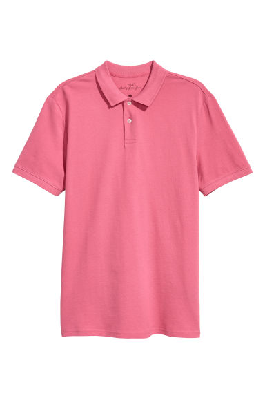 Polo shirt - Pink - Men | H&M