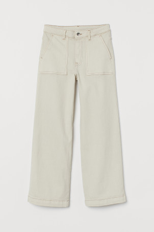 Culotte High Ankle JeansModel