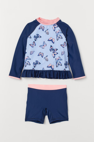 Swim set with UPF 50