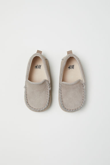 Suede moccasins - Light mole - Kids | H&M CN