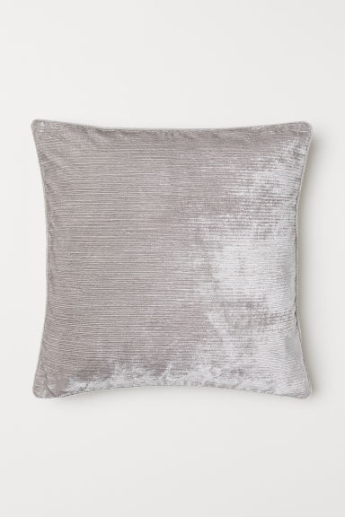 Textured-weave cushion cover - Light mole - Home All | H&M CN