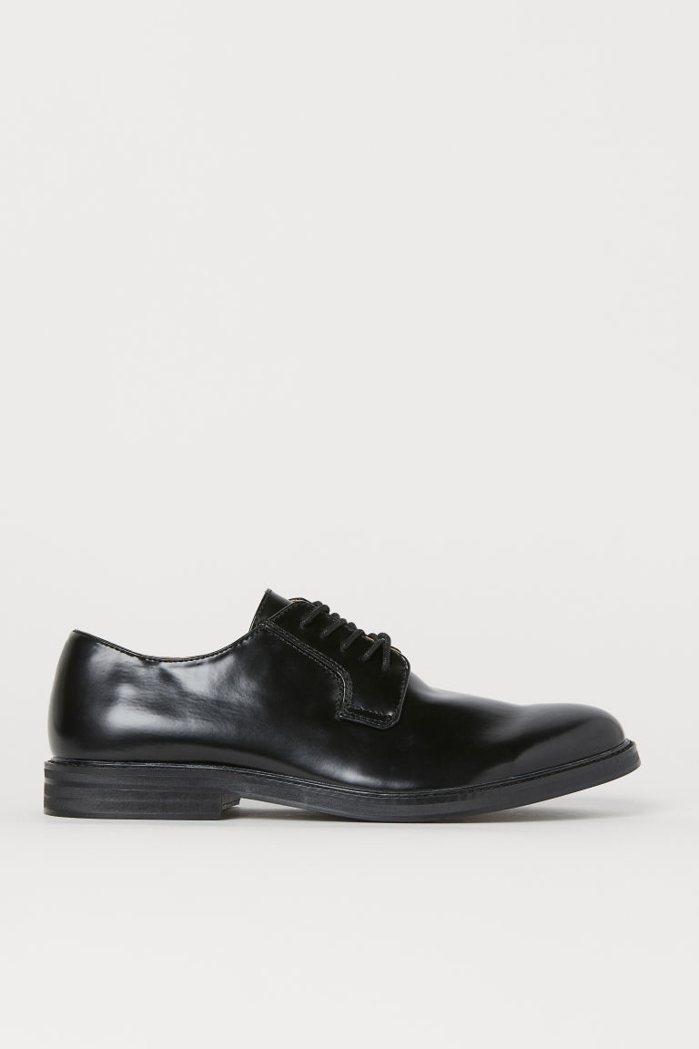 Derby shoes - Black - Men | H&M CN