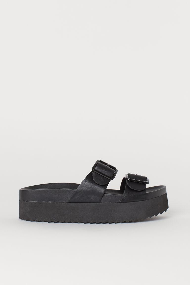 62ab01fd3 Platform sandals - Black - Ladies