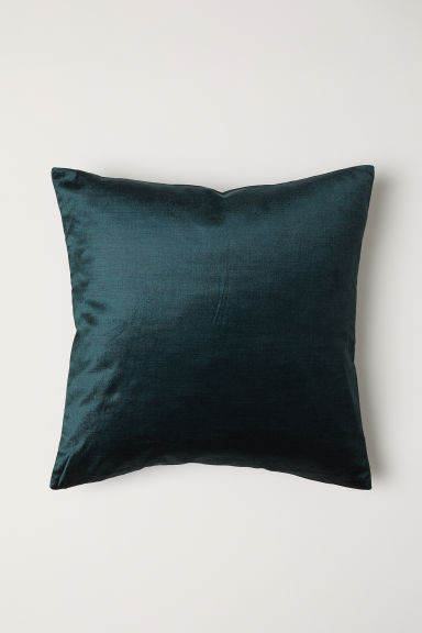 Velvet Cushion Cover - Dark green - Home All | H&M US