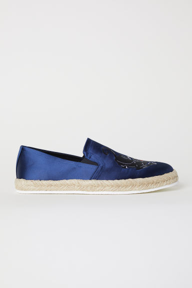Espadrilles - Dark blue/Panther - Men | H&M