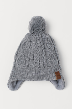 Fleece-lined Hat