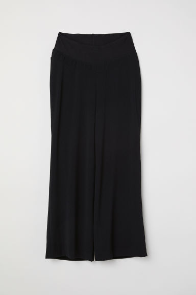 MAMA Wide trousers - Black -  | H&M