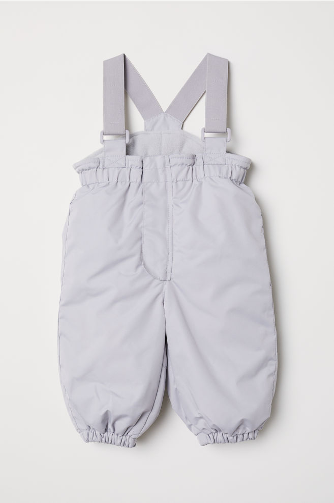 ee5c7a8e5 Outdoor trousers with braces - Light grey - Kids