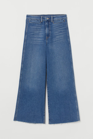 Culotte High Ankle Jeans