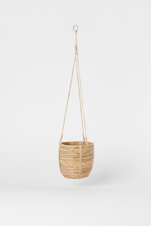 Rattan hanging basketModel