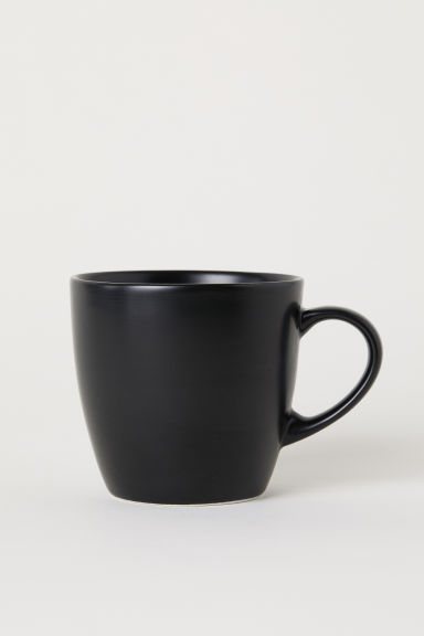 Mug en porcelaine - Noir - Home All | H&M FR