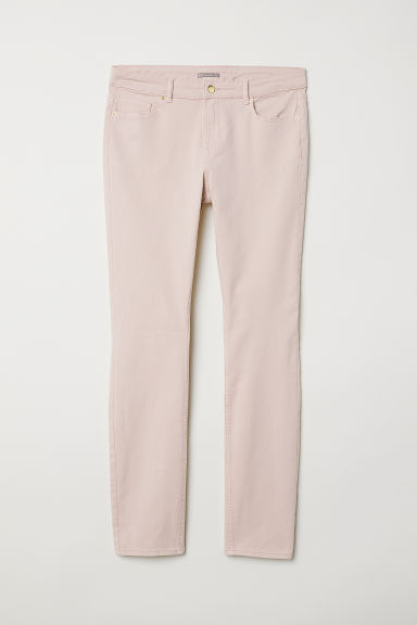 H&M+ Stretch trousers - Dusky pink - Ladies | H&M