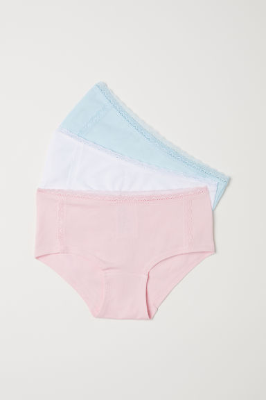 3-pack hipster briefs - Light pink - Kids | H&M