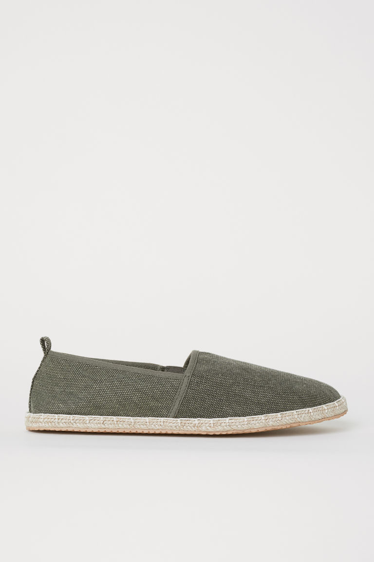 Espadrillas - Verde kaki scuro -  | H&M IT