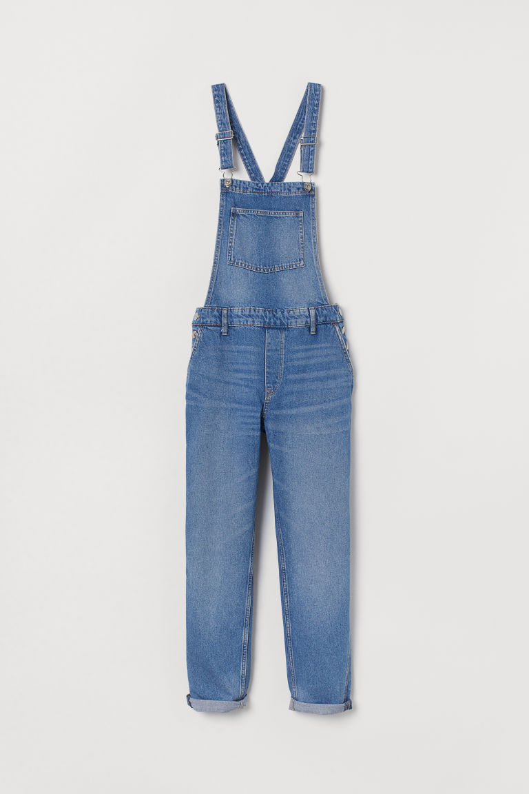 Denim dungarees - Light denim blue -  | H&M