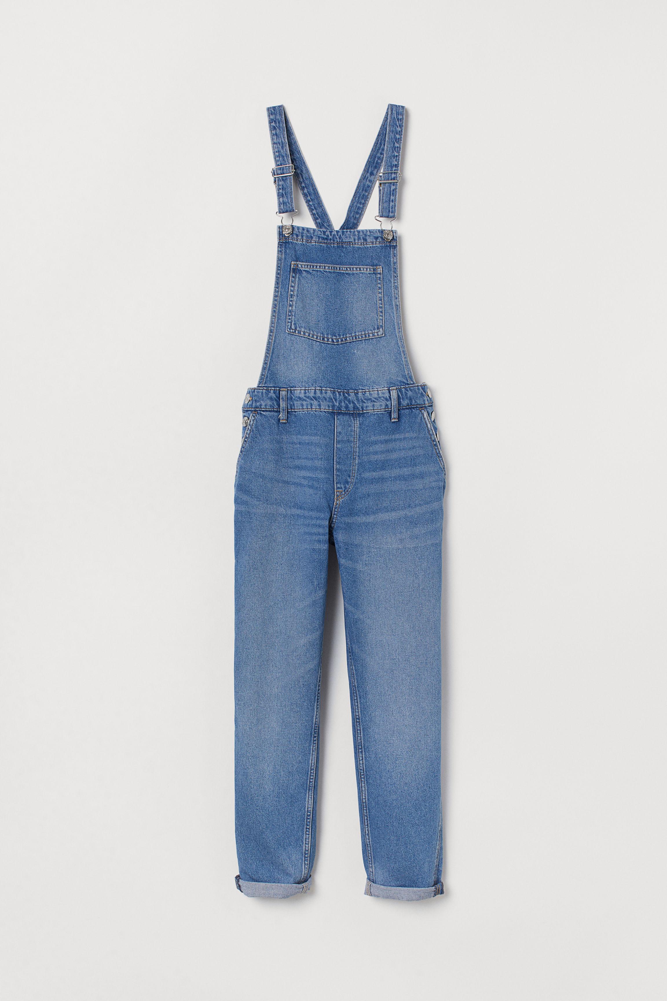 67d3d6e171 Denim Bib Overalls - Light denim blue - Ladies