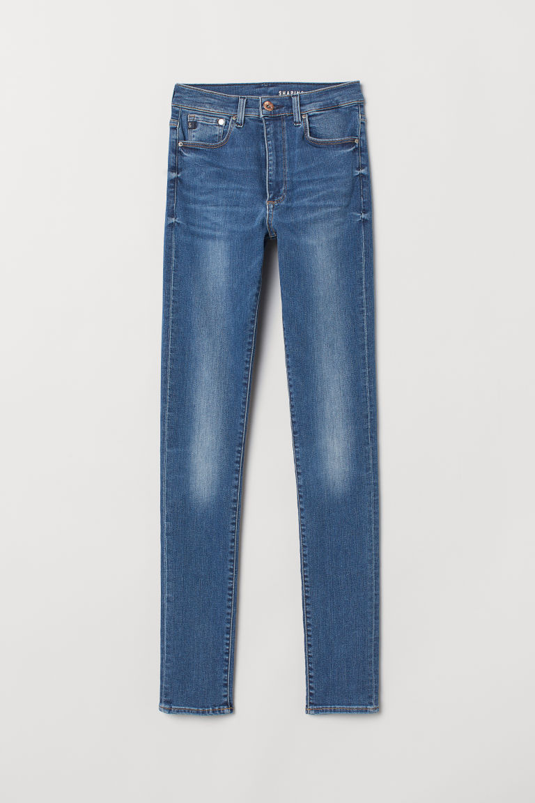 Shaping Skinny High Jeans - Denim blue -  | H&M US