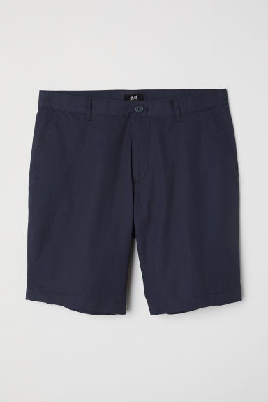 Chino shorts - Dark blue - Men | H&M