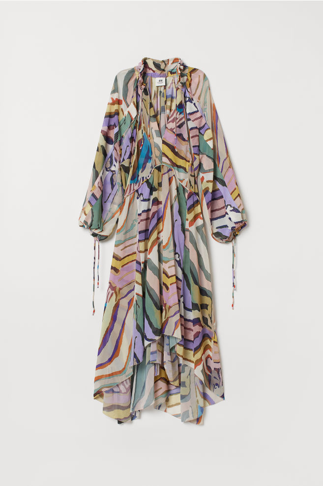 Patterned dress - Multicoloured - Ladies | H&M CN 5