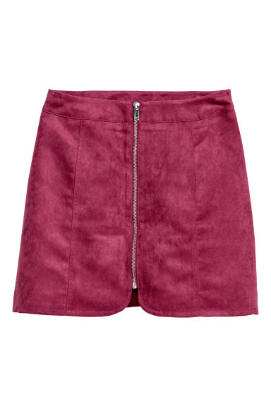 Short skirt - Dark pink -  | H&M