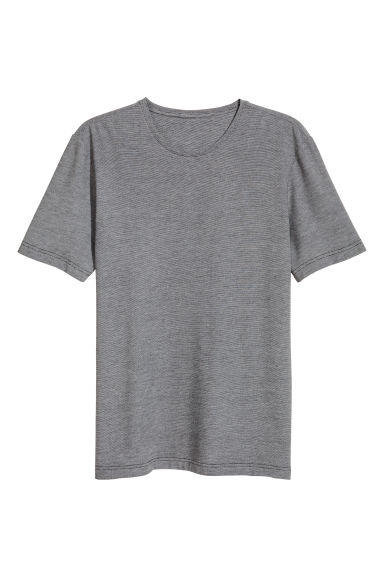 T-shirt thermo-isolant - Noir chiné -  | H&M FR