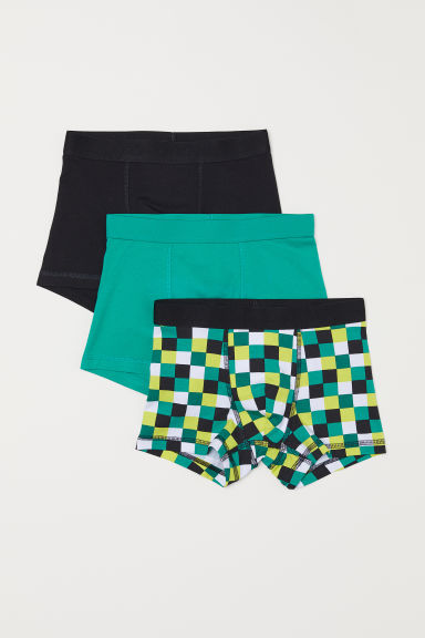 3-pack boxer shorts - Bright green - Kids | H&M