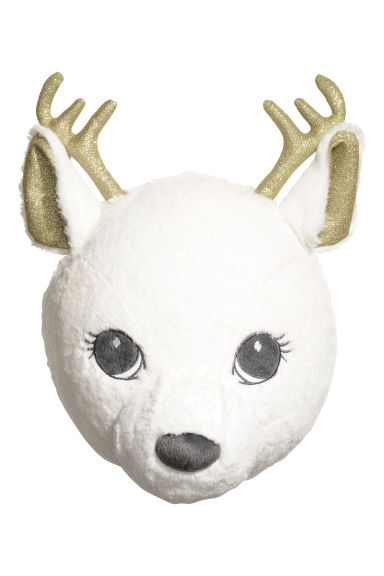 Wall decoration - White/Reindeer -  | H&M IE