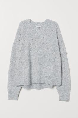 975b4becf Knitted Sweaters - Women's Knitwear Online | H&M US