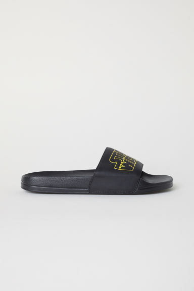 Pool shoes - Black/Star Wars - Men | H&M