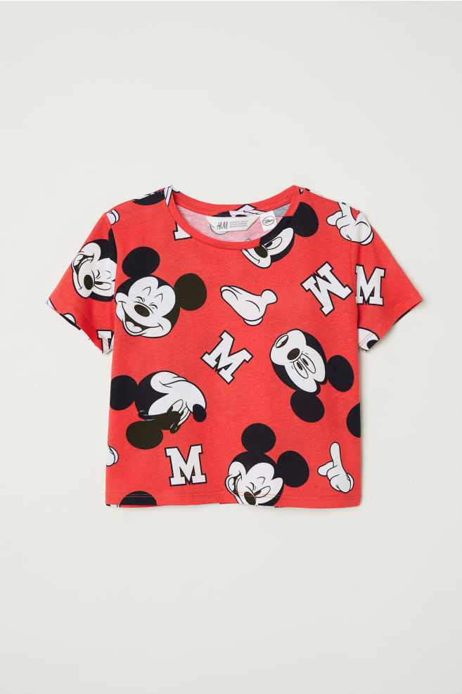 bc1c49f7f66 Baskılı Tişört - Kırmızı Mickey Mouse - ÇOCUK