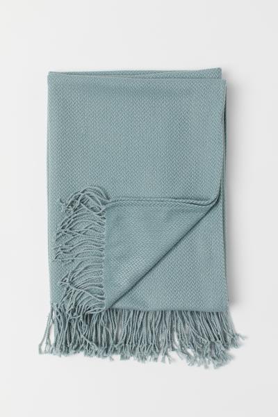 H&M - Jacquard-weave blanket - 1