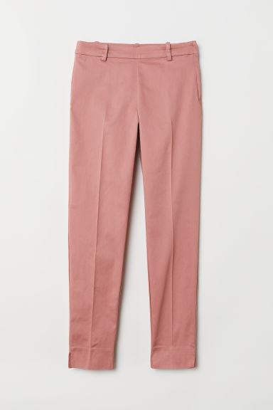 Cigarette trousers - Dusky pink - Ladies | H&M