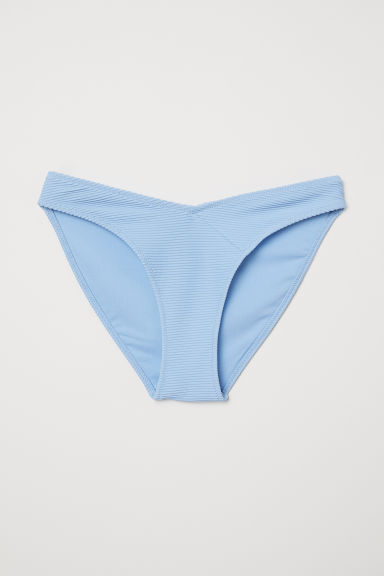 V-cut bikini bottoms - Light blue - Ladies | H&M