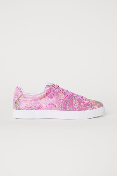Trainers - Pink/Paisley patterned - Ladies | H&M