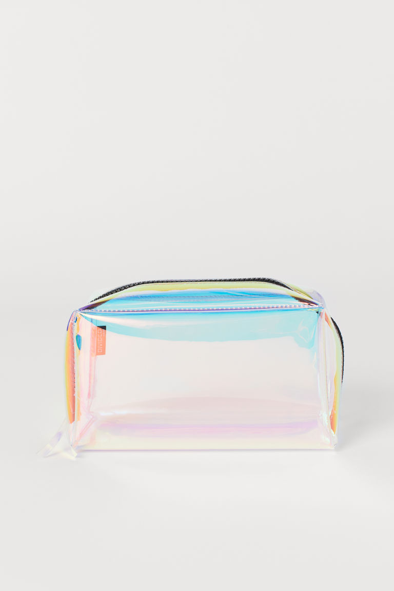 Make-up bag - Transparent/Multicoloured -  | H&M