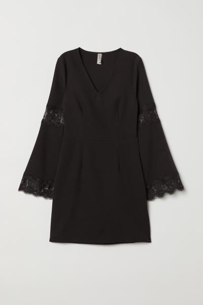 H&M - Robe avec dentelle - 1