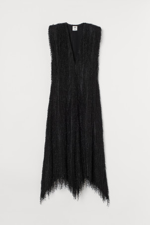 Fringed-covered dress
