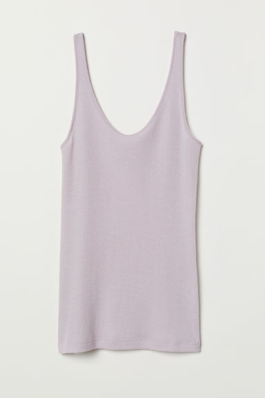 Cashmere-blend strappy top - Pink - Ladies | H&M