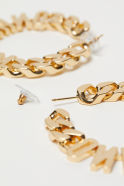 Gold-plated Earrings - Gold-colored - Ladies | H&M US3