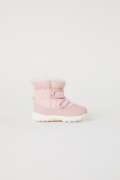 Warm-lined boots - Pink - Kids | H&M