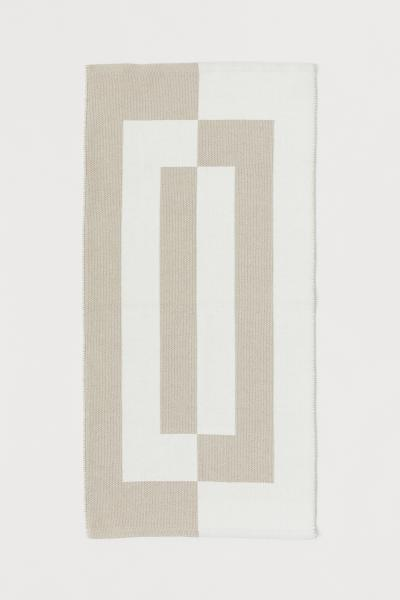 H&M - Jacquard-patterned cotton rug - 1