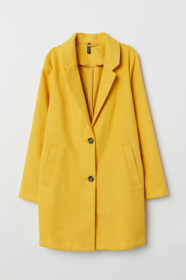 Coat - Yellow - Ladies | H&M