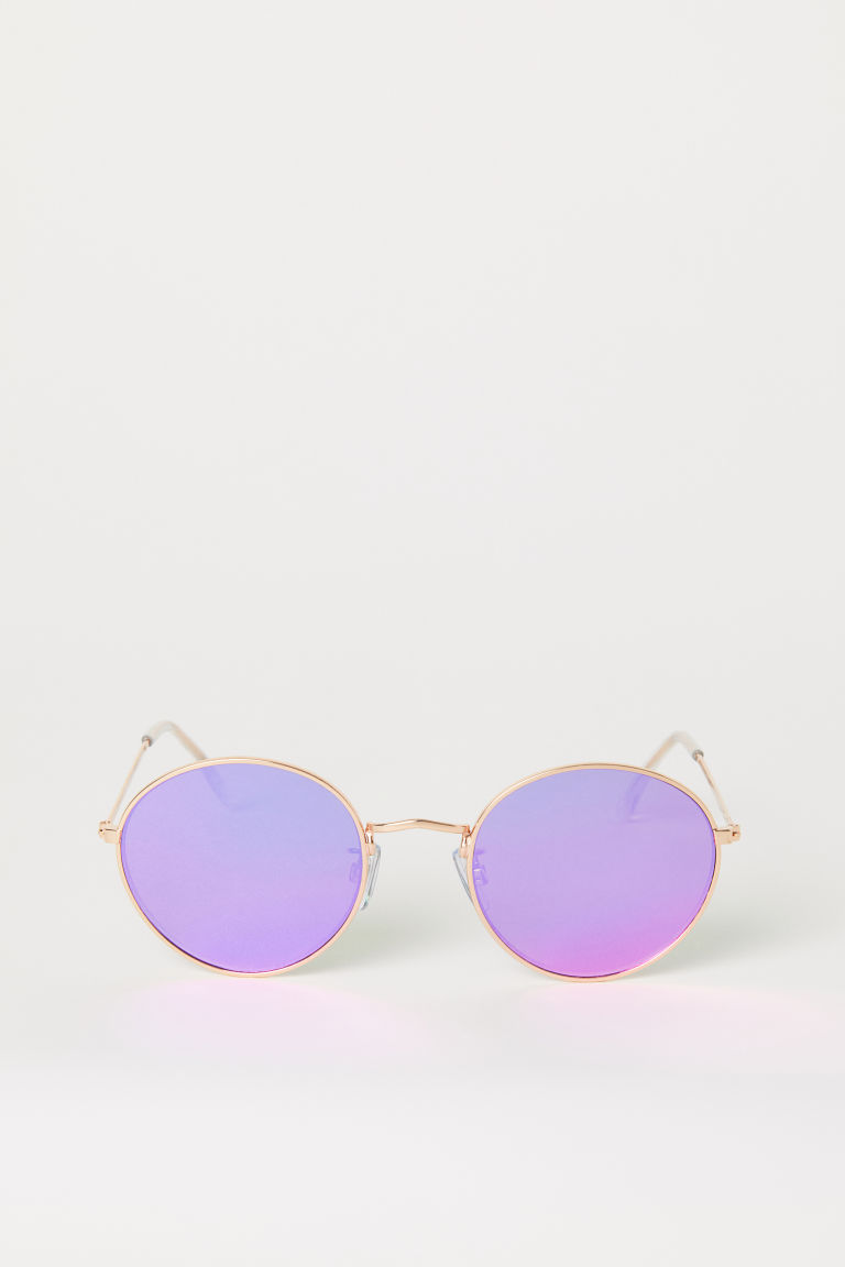 Sunglasses - Dark pink - Ladies | H&M