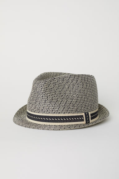 Straw hat - Beige - Men | H&M
