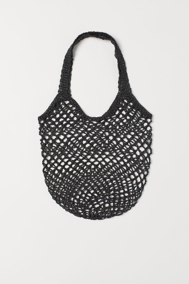 Net bag - Black - Ladies | H&M GB