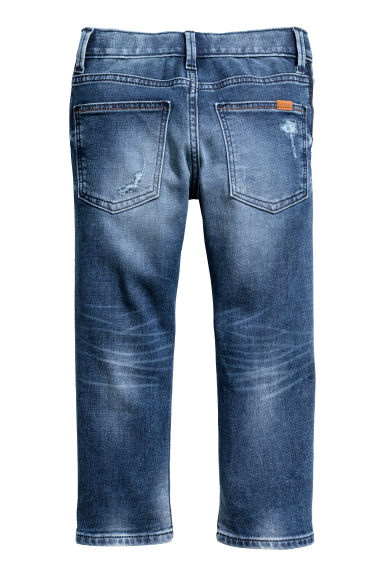 Super Soft Slim fit Jeans - Azul denim - NIÑOS | H&M ES
