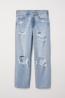 Original Straight High Jeans