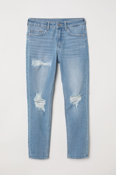 Relaxed Tapered Fit Jeans - Albastru-denim deschis - COPII | H&M RO