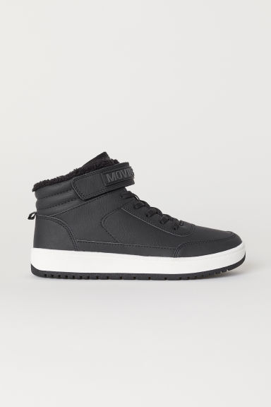 Pile-lined hi-tops - Black - Kids | H&M GB