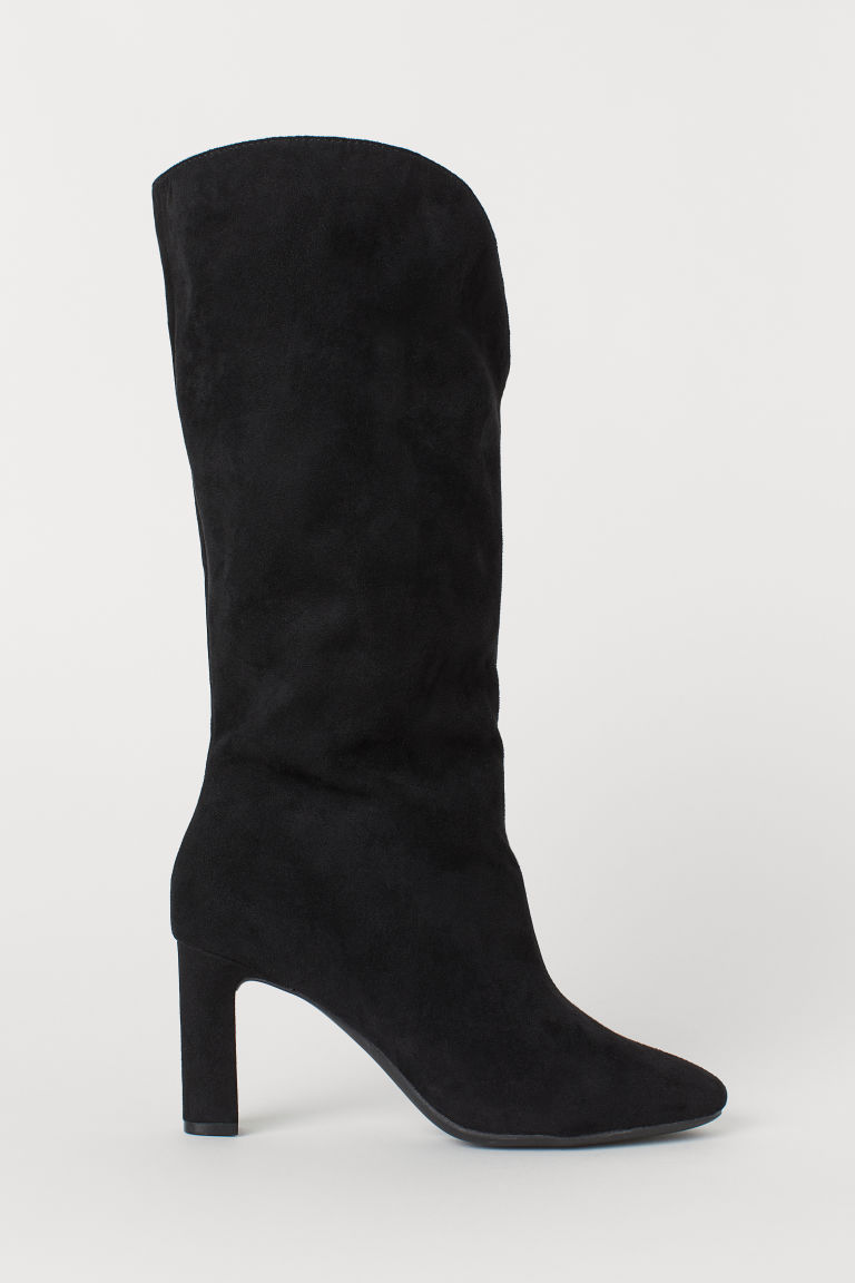 Calf-length Boots - Black - Ladies | H&M US